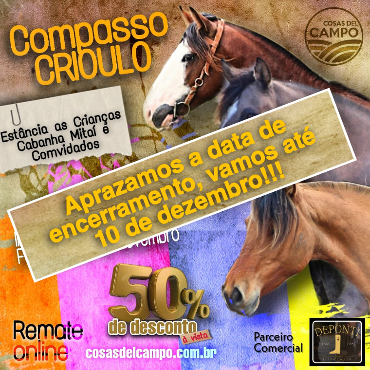 REMATE COMPASSO CRIOULO